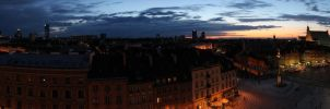 Warsaw (very long panorama) by K-Kemp