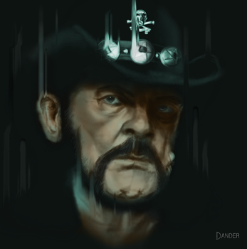 Lemmy Kilmister by The-Dander