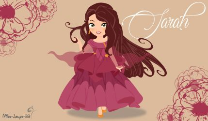 No-Disney and Disney Princess Young ~ Sarah by miss-lollyx-33