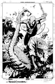 Amazing Spider Man 631 cover by TimTownsend
