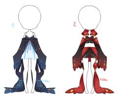 {Closed} Auction Outfit 180 - 181 by xMikuChuu