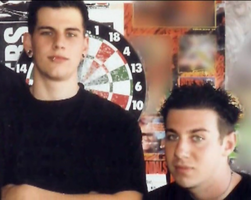 Zacky and M Shadows teen years by ThatAvengedKid