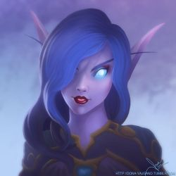 Esmee - Void Elf - Wold of Warcraft by DonaVajgand