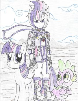 Alicorn,Spellcaster,and Dragon(Color) by PiplupSTARSCommander