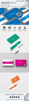 Creative Color Business Card by Hasyemi12