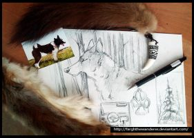 Sketches from hunting by FarghTheWanderer