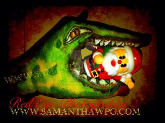 Christmas Monster By SamanthaWpg.Com by VisualEyeCandy