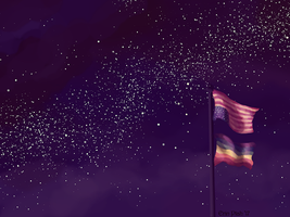 Wallpaper - Flagpole by ErinPtah