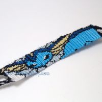 Vaporeon 1.25' Bracelet by CarrieBea