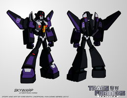 TF:Ignition - Skywarp (Cyb. Robot Mode) by KrisSmithDW