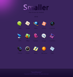 Smaller------icons for Android by icondoctor