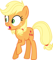 Vector Applejack by DeyrasD