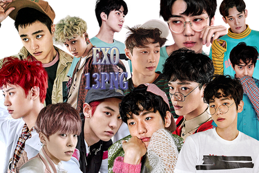 EXO PNG Pack {EX'ACT Goods} by kamjong-kai