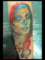 Susana's Tattoo by Reddogtattoo