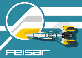 Wipeout Feisar Fan Poster by Pilotguy97