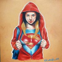 Super Girl by Bobby-castaldi-art
