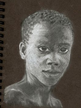 african boy by almostexpelled