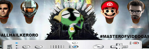 #ALLHAILKERORO #MASTEROFVIDEOGAMES by DrPingas
