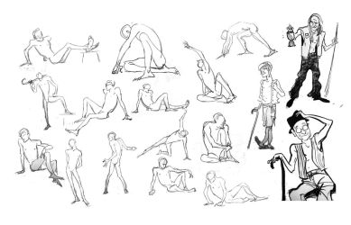 CalArts Life drawing 3 by Britt315