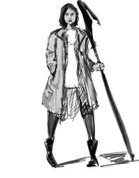 Axe Lady by Ronchi