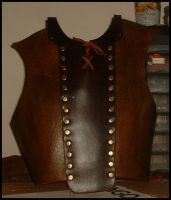 Leather Breastplate WIP by North-Steading