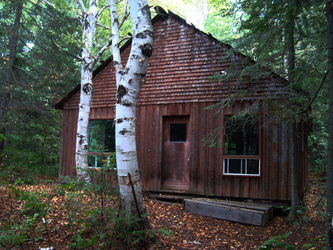 The Cabin in the Woods by Mrs-Haldir
