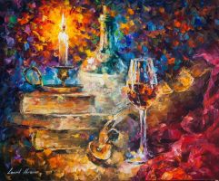 The Thought Of Composing by Leonid Afremov by Leonidafremov