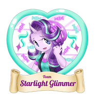 Team Starlight Glimmer by DeDonnerwolke