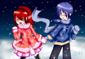 Warmth in the snow - GC by Kya-Cat