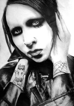 Marilyn Manson by Dark4Light