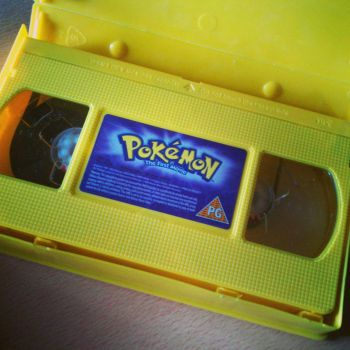 Pokemon VHS by omrgms88