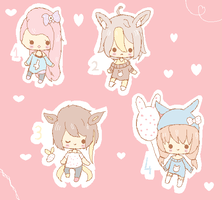 Adoptables 001 (sold) by BunniMilk