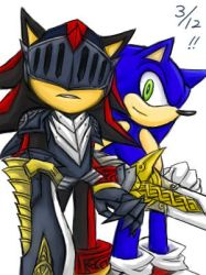 Sonic and Lancelot_practice by maruringo