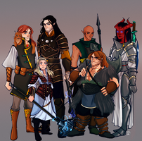 Commission: Rpg Group by AlexielApril