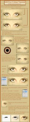 644 Eye Colour Tutorial by Tigers-stock