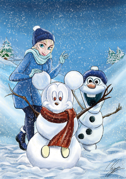 Snowmouse by FurkanHolmes