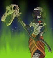 Nephthys of the Dead by TyrannoNinja