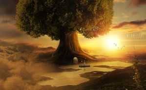 Passage in the tree by alanleal22