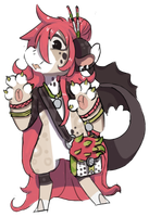 BB Birthday - Dragonfruit by RascalWabbit