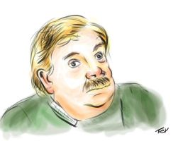 Vernon Dursley - Quick Sketch by Tr1nks1e