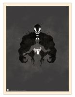 Inkblot Test: I See Spiders by daabcreative