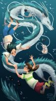 Spirited Away by ZLynn