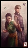 Daily - Eden and Ziva by Ruloc