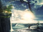 Tutorial -The trip--Fantasy -landscape by 35-Elissandro