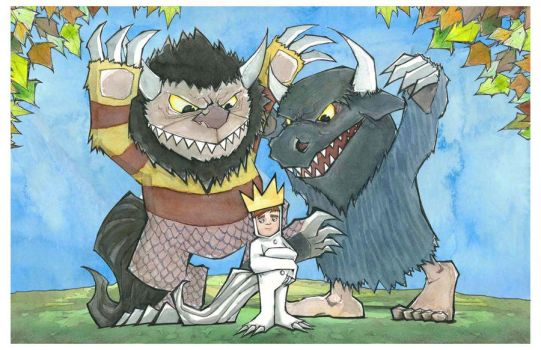 re:Where the Wild Things Are by MatthewFletcher720