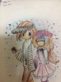 Ocember day 6 LOVE by Ione7Marie7