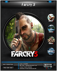 Farcry 3 - Game Icon by 3xhumed