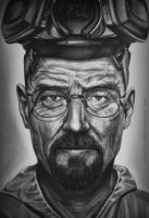 Walter White drawing - Breaking bad by lyyy971
