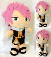 Commission, Plushie Natsu Dragneel by ThePlushieLady