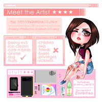 - Meet The Artist - by Zorbitas